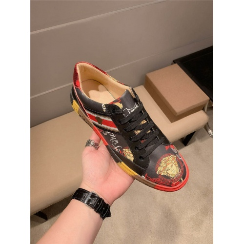 Replica Versace Casual Shoes For Men #833088 $68.00 USD for Wholesale
