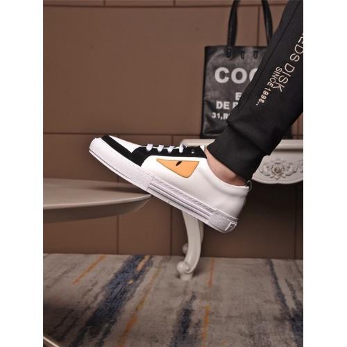 Replica Fendi Casual Shoes For Men #833091 $72.00 USD for Wholesale
