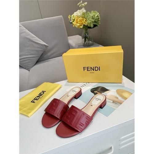 Fendi Slippers For Women #833104