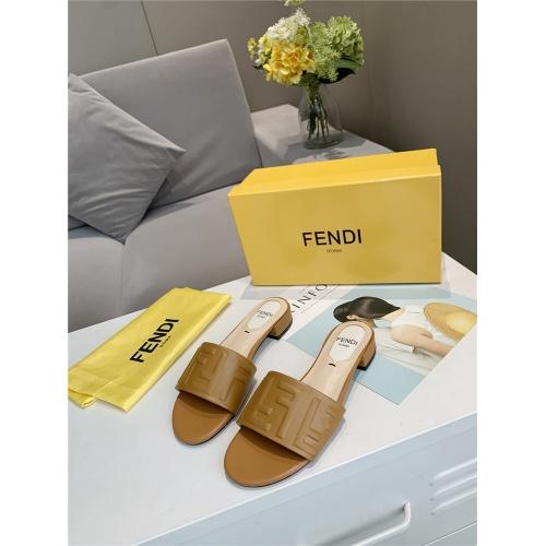 Fendi Slippers For Women #833105