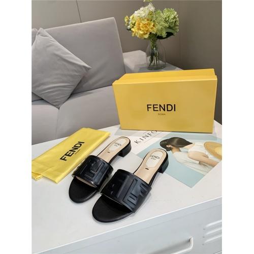 Fendi Slippers For Women #833106