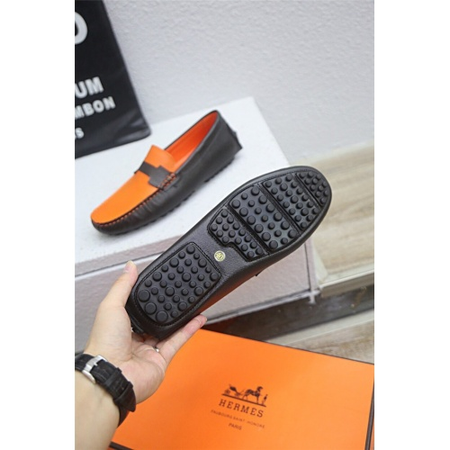 Replica Hermes Casual Shoes For Men #833112 $76.00 USD for Wholesale