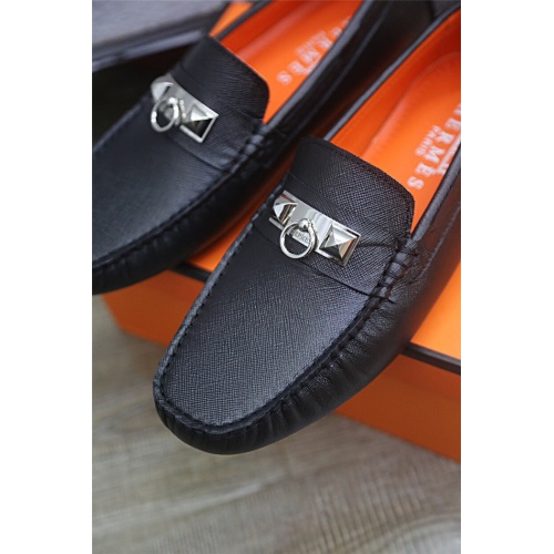 Replica Hermes Casual Shoes For Men #833113 $76.00 USD for Wholesale