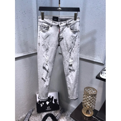 Replica Dsquared Jeans For Men #833210 $62.00 USD for Wholesale