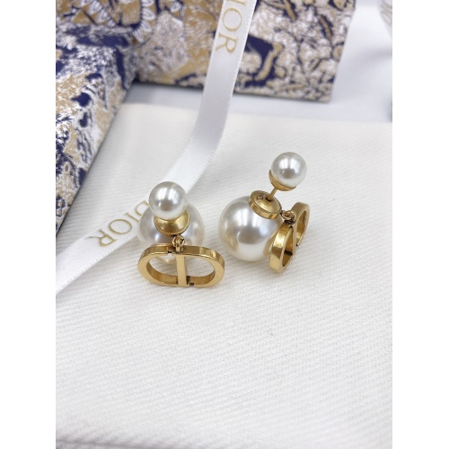 Christian Dior Earrings #833214 $27.00, Wholesale Replica Christian Dior Earrings