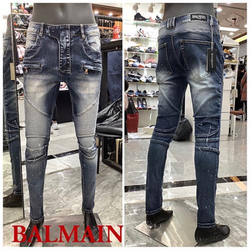 Balmain Jeans For Men #833231 $62.00, Wholesale Replica Balmain Jeans