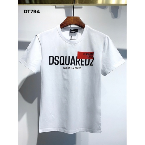 Dsquared T-Shirts Short Sleeved For Men #833359