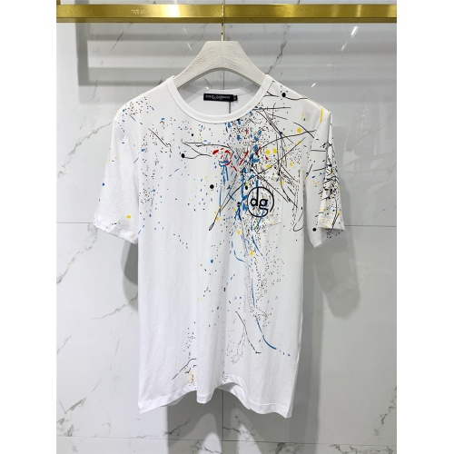 Dolce & Gabbana D&G T-Shirts Short Sleeved For Men #833369 $41.00 USD, Wholesale Replica Dolce & Gabbana D&G T-Shirts