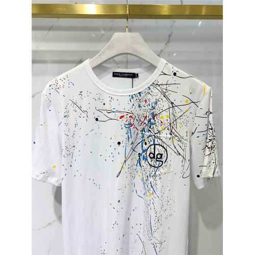Replica Dolce & Gabbana D&G T-Shirts Short Sleeved For Men #833369 $41.00 USD for Wholesale