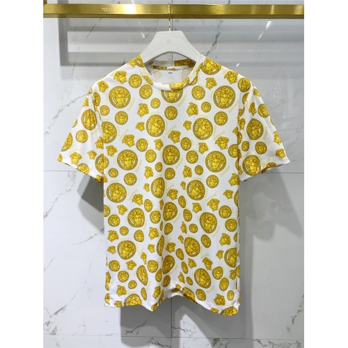 Versace T-Shirts Short Sleeved For Men #833387 $41.00 USD, Wholesale Replica Versace T-Shirts