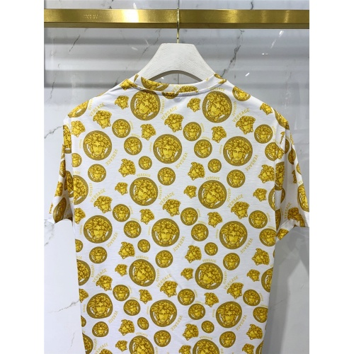 Replica Versace T-Shirts Short Sleeved For Men #833387 $41.00 USD for Wholesale