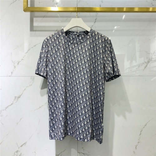Christian Dior T-Shirts Short Sleeved For Men #833391 $41.00 USD, Wholesale Replica Christian Dior T-Shirts
