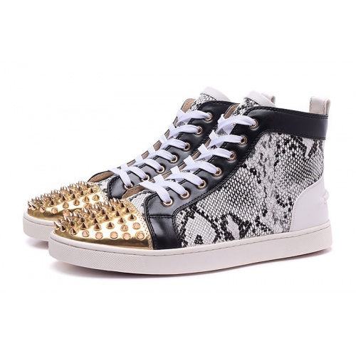 Christian Louboutin High Tops Shoes For Men #833431