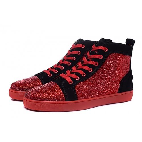 Christian Louboutin High Tops Shoes For Men #833437
