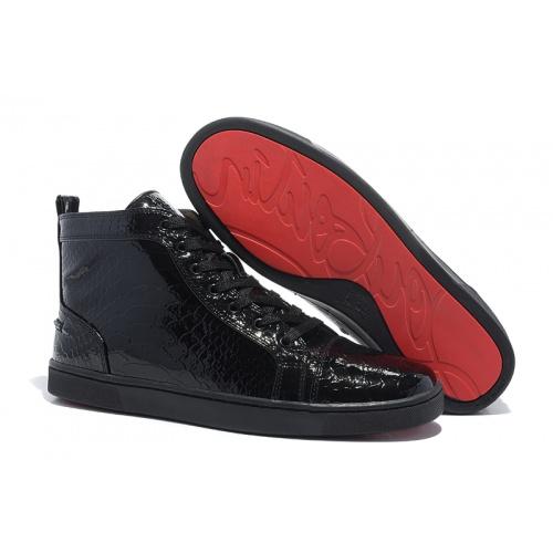 Christian Louboutin High Tops Shoes For Men #833443