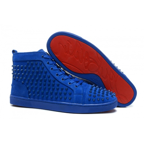 Christian Louboutin High Tops Shoes For Men #833447