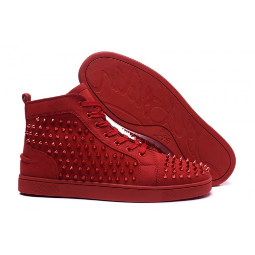 Christian Louboutin High Tops Shoes For Men #833450