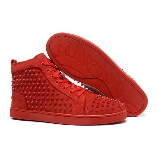 Christian Louboutin High Tops Shoes For Men #833451
