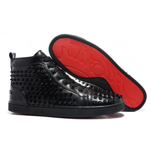 Christian Louboutin High Tops Shoes For Men #833454