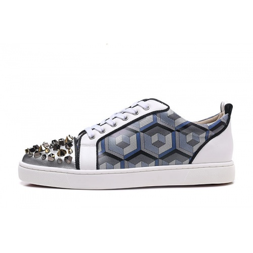 Replica Christian Louboutin Casual Shoes For Men #833460 $94.00 USD for Wholesale