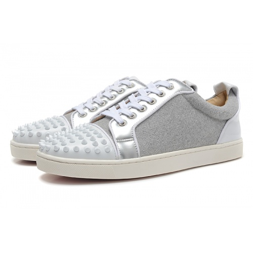 Replica Christian Louboutin Casual Shoes For Men #833464 $94.00 USD for Wholesale