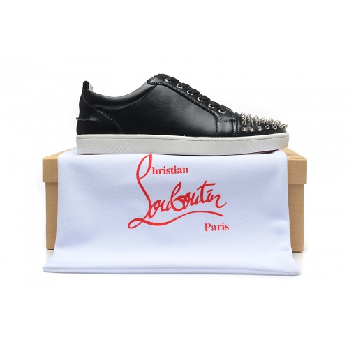 Replica Christian Louboutin Casual Shoes For Men #833474 $92.00 USD for Wholesale