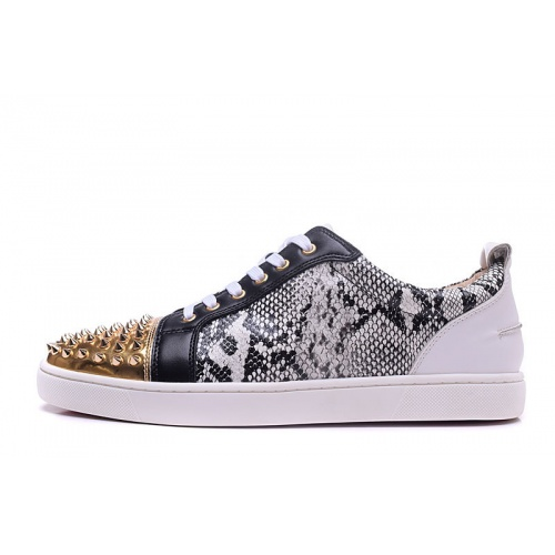 Replica Christian Louboutin Casual Shoes For Men #833475 $92.00 USD for Wholesale
