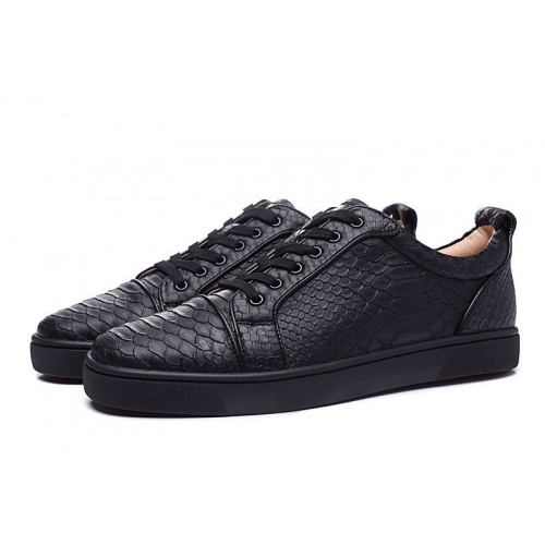 Replica Christian Louboutin Casual Shoes For Men #833484 $92.00 USD for Wholesale