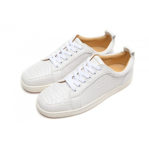 Replica Christian Louboutin Casual Shoes For Men #833485 $92.00 USD for Wholesale