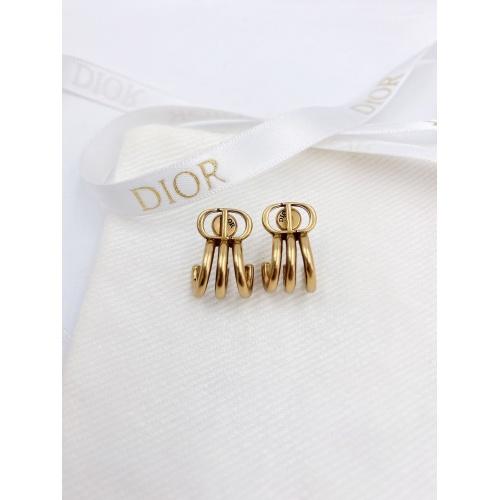 Christian Dior Earrings #833489 $25.00 USD, Wholesale Replica Christian Dior Earrings
