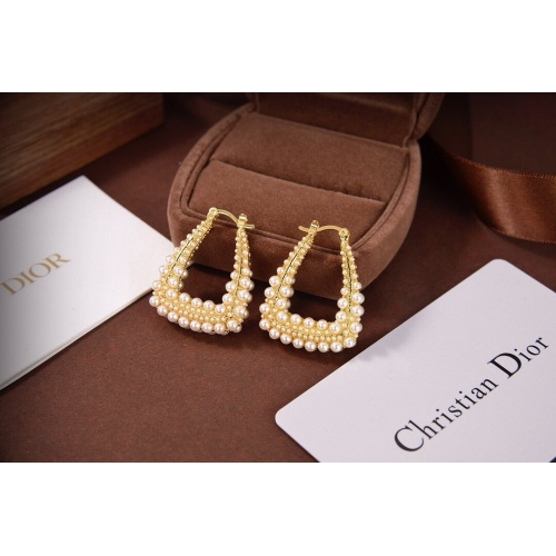 Christian Dior Earrings #833501 $34.00 USD, Wholesale Replica Christian Dior Earrings