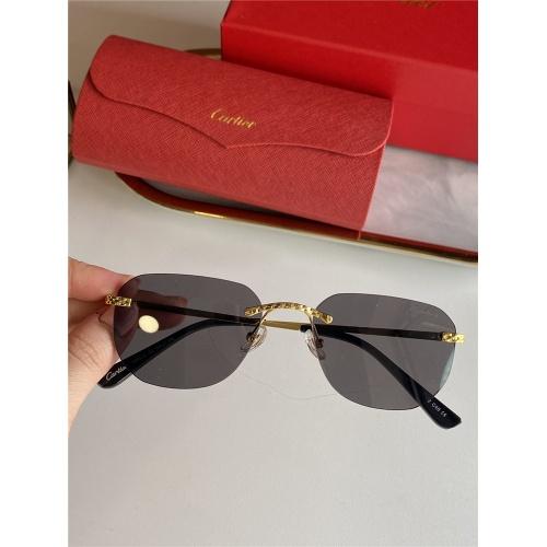 Cartier AAA Quality Sunglasses #833631
