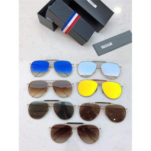 Replica Thom Browne AAA Quality Sunglasses #833637 $46.00 USD for Wholesale