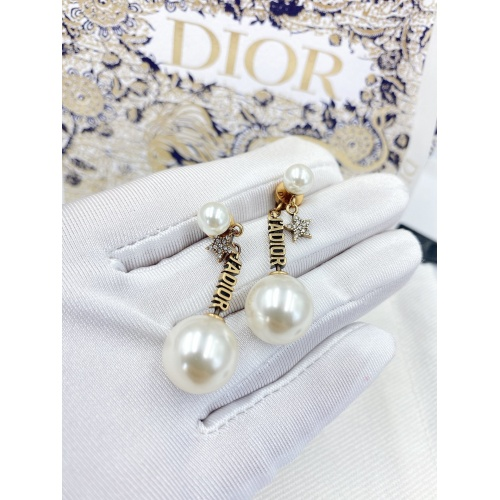 Christian Dior Earrings #833668 $29.00 USD, Wholesale Replica Christian Dior Earrings