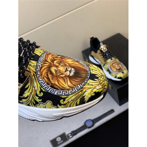 Replica Versace Casual Shoes For Men #833700 $76.00 USD for Wholesale