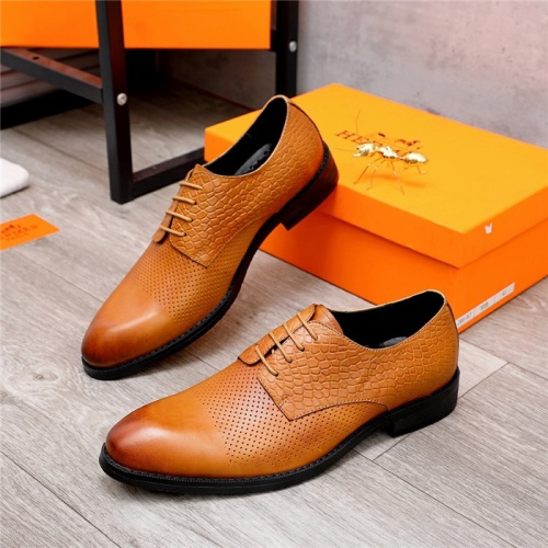 Hermes Leather Shoes For Men #833702