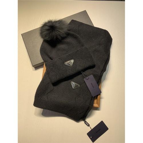 Prada Scarf & Hat Set #833802
