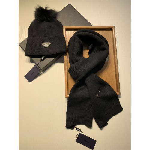 Replica Prada Scarf & Hat Set #833802 $54.00 USD for Wholesale