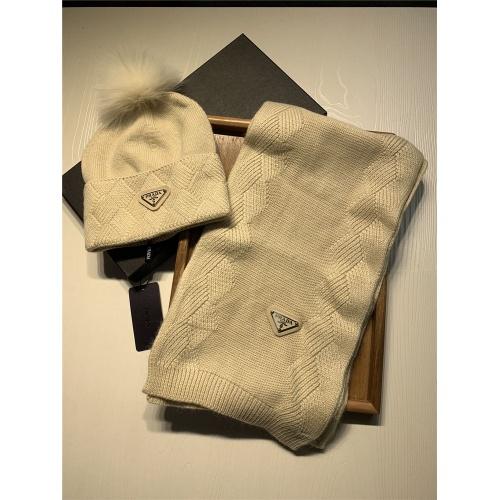 Replica Prada Scarf & Hat Set #833803 $54.00 USD for Wholesale
