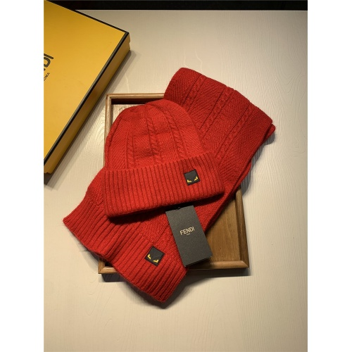 Fendi Scarf & Hat Set #833808