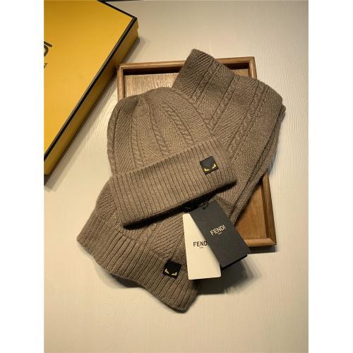Fendi Scarf & Hat Set #833810