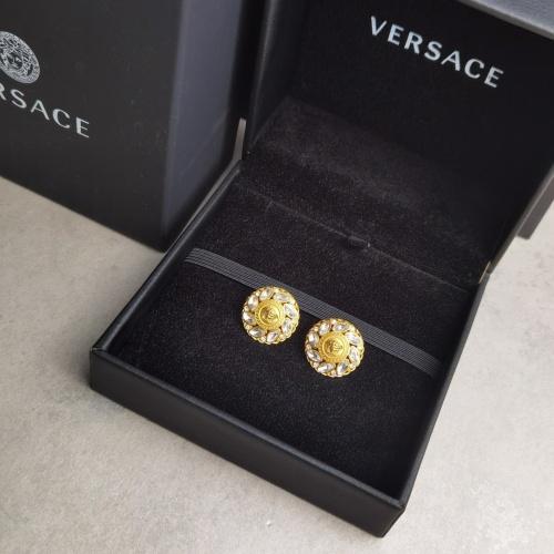 Versace Earrings #833831 $36.00, Wholesale Replica Versace Earrings