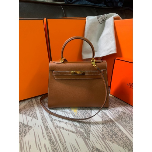 Hermes AAA Quality Messenger Bags For Women #833895 $125.00, Wholesale Replica Hermes AAA Quality Messenger Bags