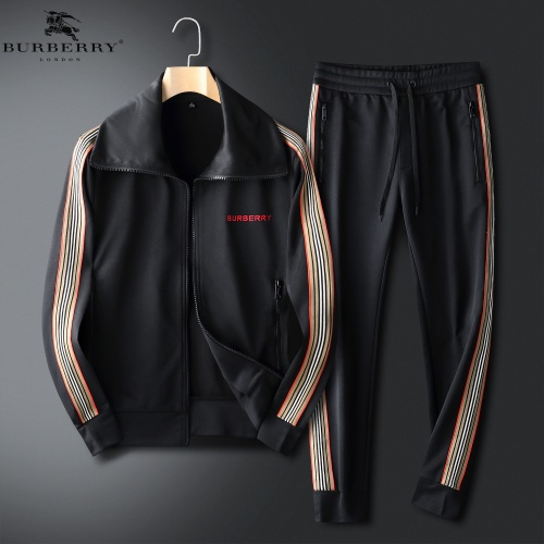 Burberry Tracksuits Long Sleeved For Men #833907