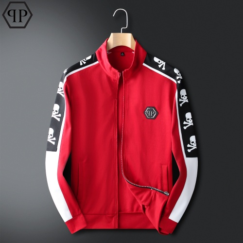 Replica Philipp Plein PP Tracksuits Long Sleeved For Men #833911 $98.00 USD for Wholesale