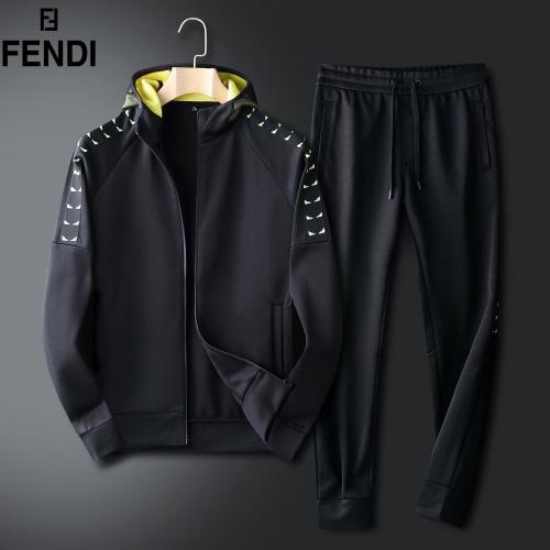 Fendi Tracksuits Long Sleeved For Men #833913