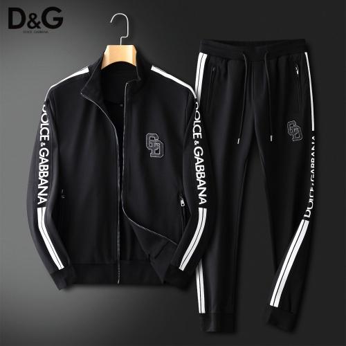 Dolce & Gabbana D&G Tracksuits Long Sleeved For Men #833914