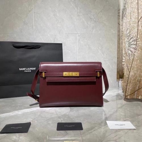 Yves Saint Laurent YSL AAA Messenger Bags For Women #833917 $105.00 USD, Wholesale Replica Yves Saint Laurent YSL AAA Messenger Bags