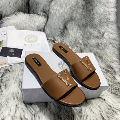 Versace Slippers For Women #833953