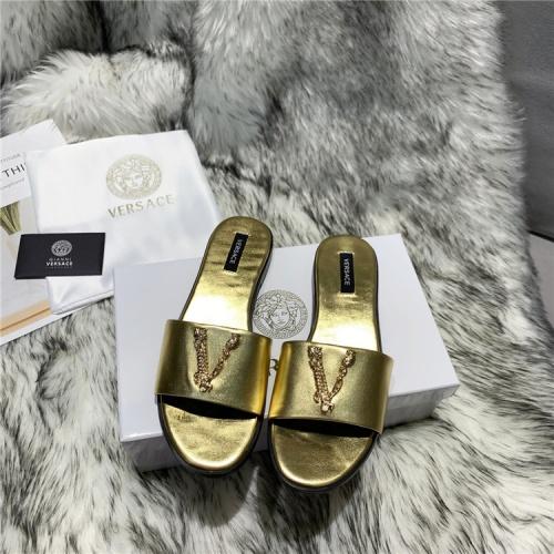 Versace Slippers For Women #833956
